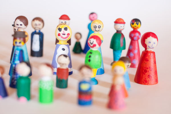 Abbildung zum Diversity Spiel | dynamische Prozessarbeit für Unternehmen | Elisabeth Mlasko | Zürich