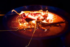 Foto einer Feuerschale | dynamische Prozessarbeit für Unternehmen | Elisabeth Mlasko | Zürich